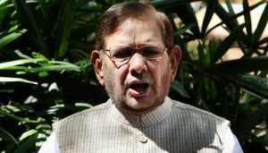 Nitish Kumar's JD(U) removes Sharad Yadav as party leader in Rajya Sabha