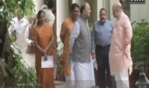 8 Union ministers meet BJP president Amit Shah amid reshuffle speculation